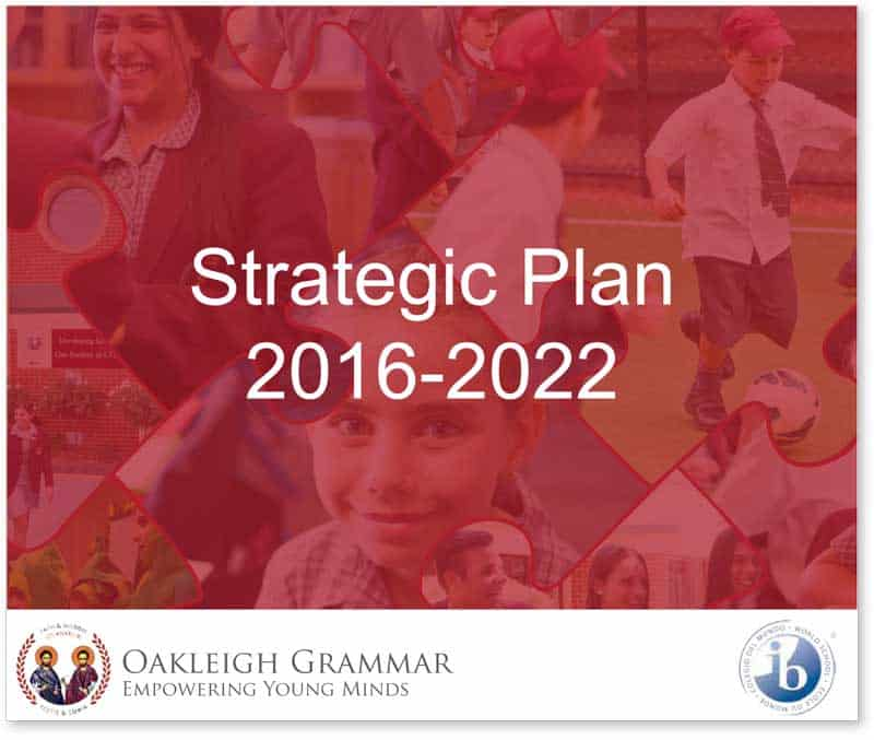 Oakleigh Grammar Strategic Plan