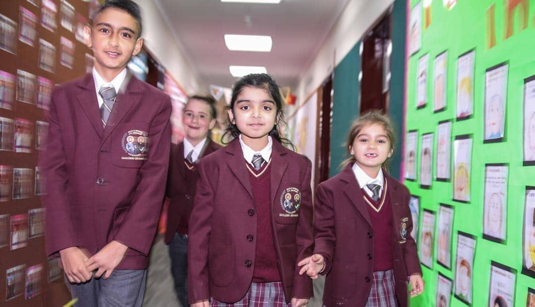 Junior School students Oakleigh Grammar