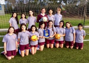1. Year 7 Girls Soccer 2 (term 2)