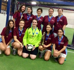 3. Girls 5 A Side Futsal Premiers