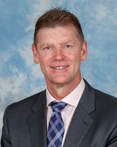 Mark Robertson Principal of Oakleigh Grammar