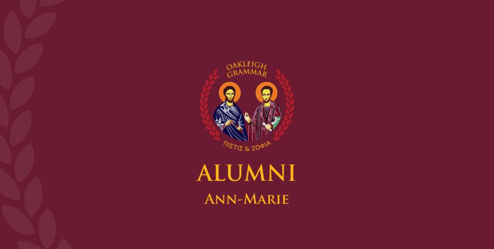 Alumni Profile Ann Marie